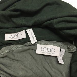 LOGO by Lori Goldstein Tops - Logo by Lori Goldstein | Cowl Neck Tunic Top L